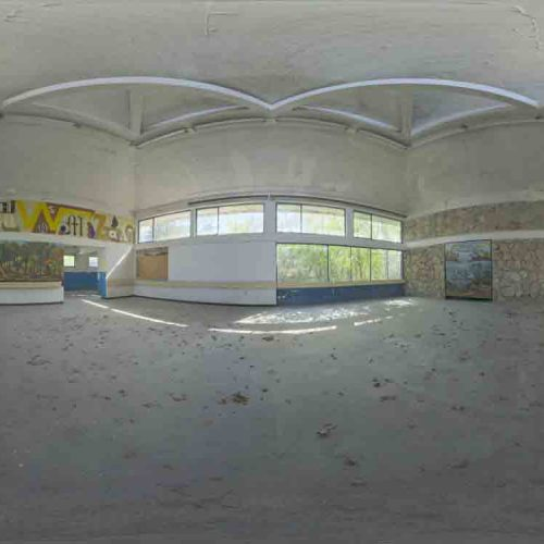 Abandoned Hall 01 HDRI