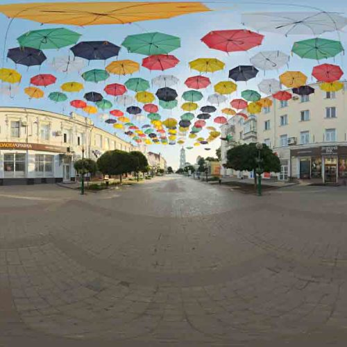 Outdoor Umbrellas HDRI
