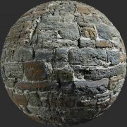 castle wall varriation pbr texture