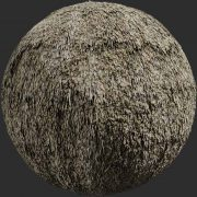 reed roof 04 pbr texture