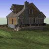 House On Forest Sketchup Model