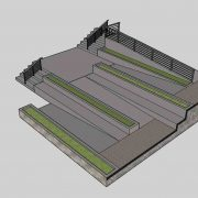 Street Section Sketchup Model