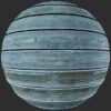 blue painted planks pbr texture