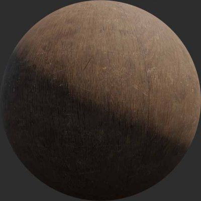 fine grained wood pbr texture