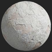 Painted Plaster 006 Pbr Texture