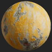 Painted Plaster 007 Pbr Texture