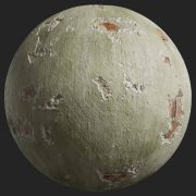 Painted Plaster 009 Pbr Texture