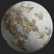 Painted Plaster 014 Pbr Texture