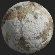 Painted Plaster 016 Pbr Texture