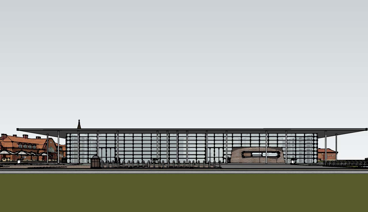 The Sports Centre Sketchup Model