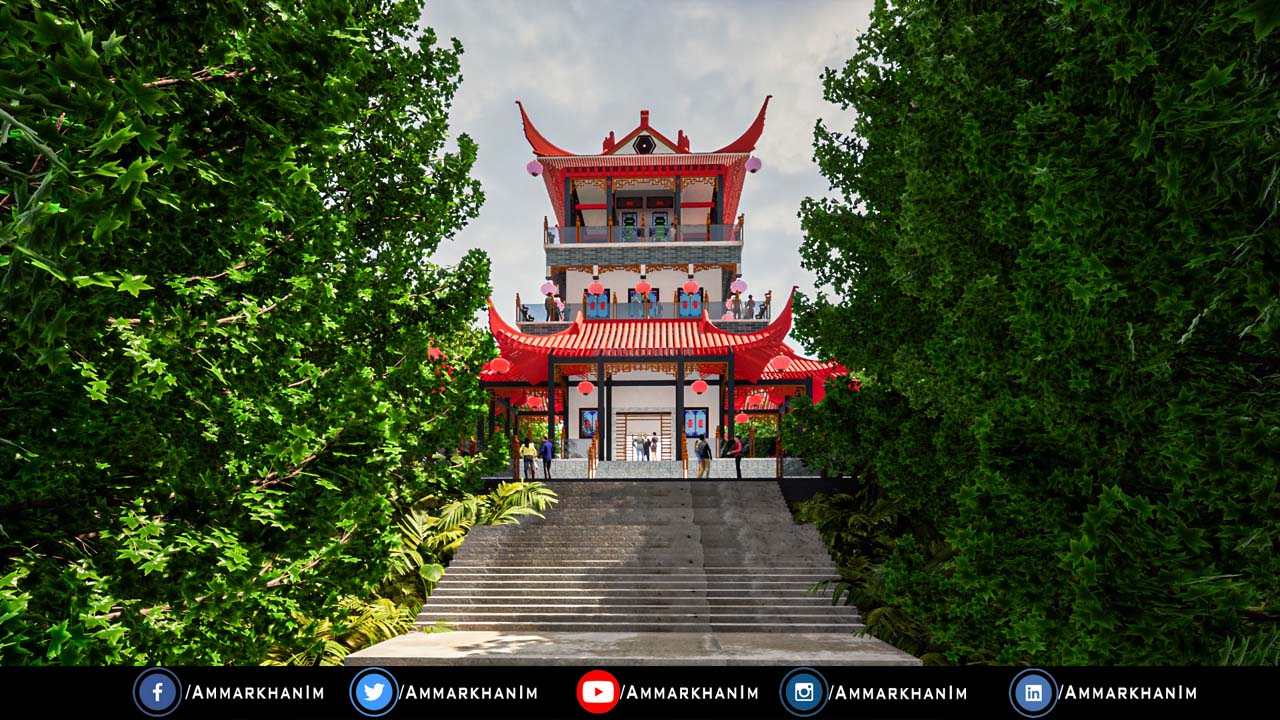 Chinese Temple Twinmotion 2021