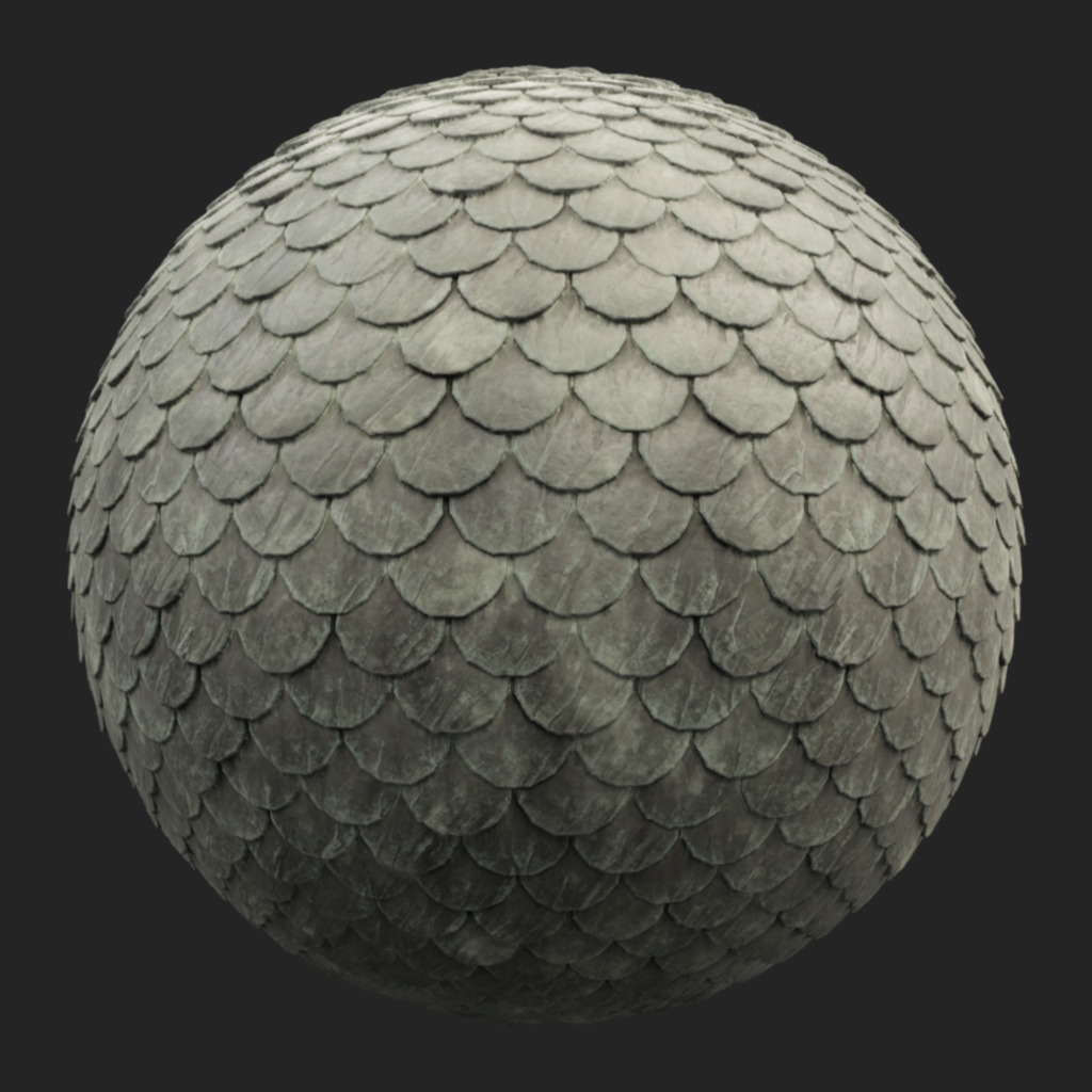 Roofing Tiles 002 pbr texture