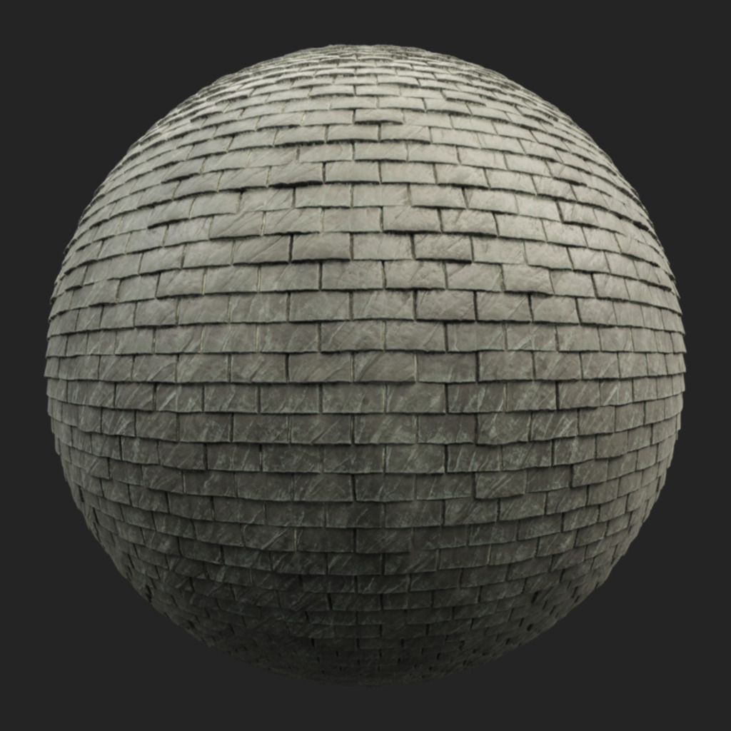 Roofing Tiles 003 pbr texture