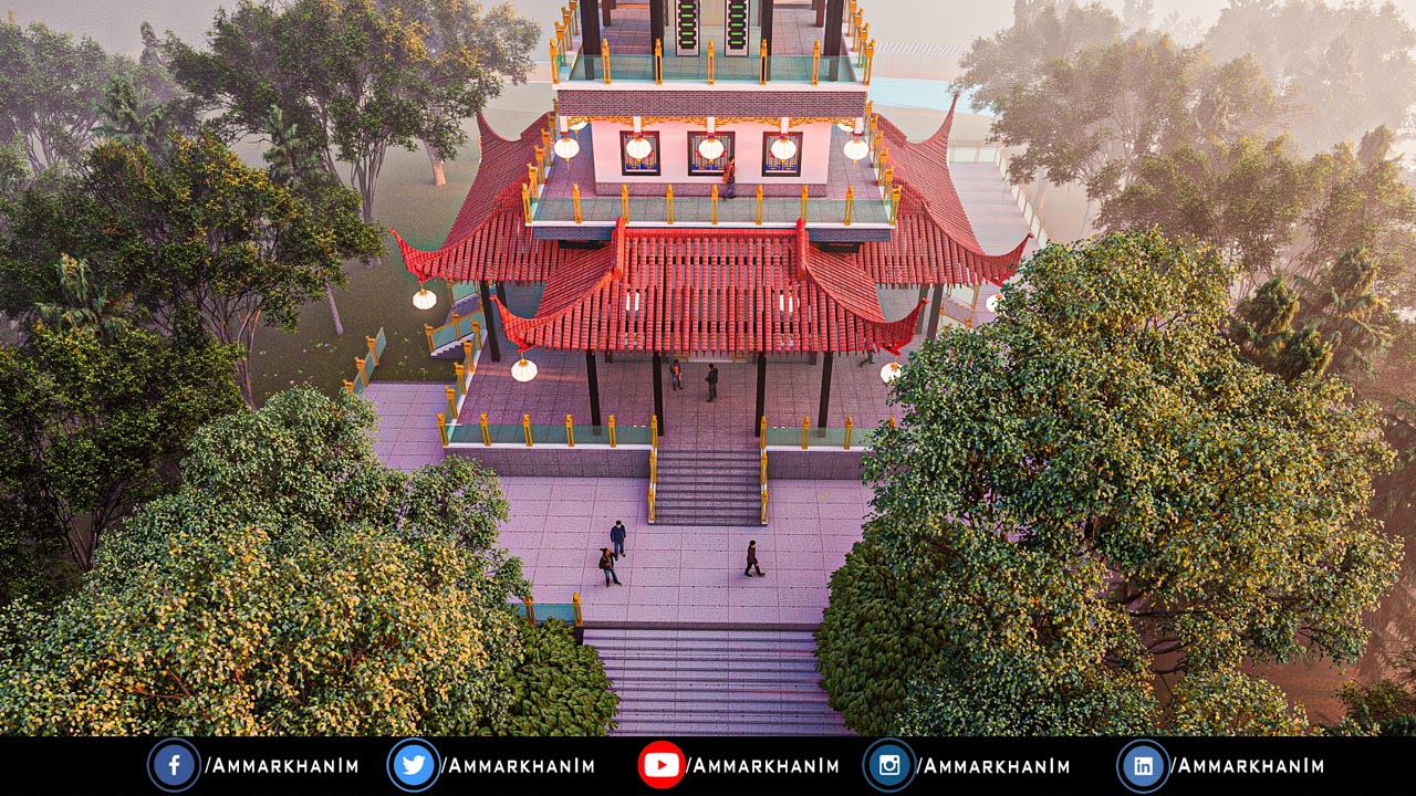 Chinese Temple Lumion 11