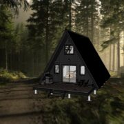 Cabin In The Wood Sketchup Model
