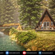 Cabin In The Wood Twinmotion 2021
